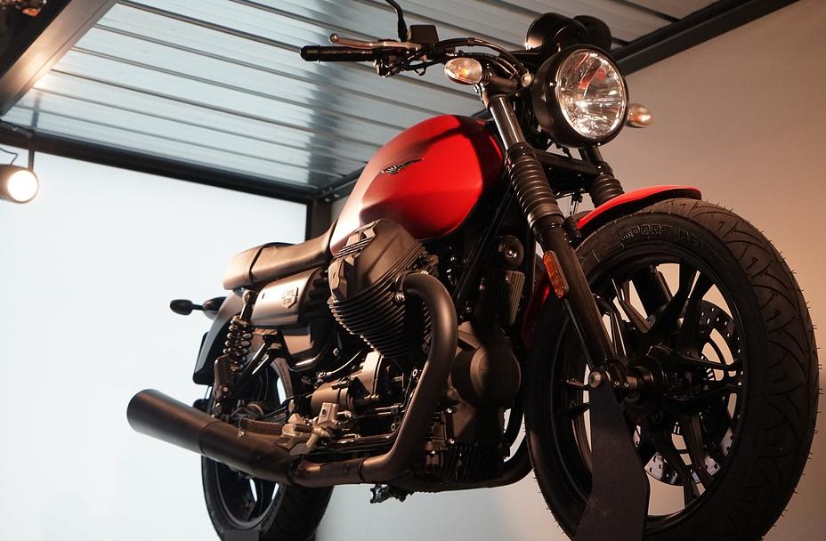 Motorrad Montageständer Set
